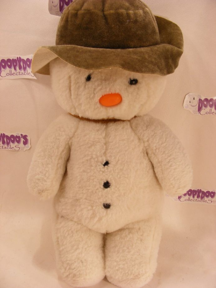 "VINTAGE 80'S RAYMOND BRIGGS - 11"" THE SNOWMAN SOFT TOY"